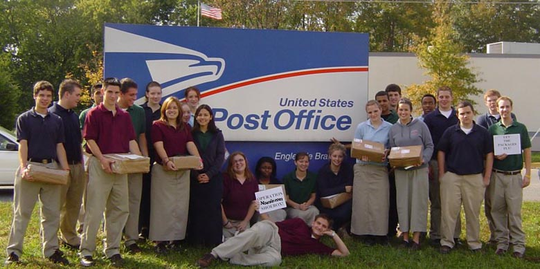 Engleside Christian School Alexandria VA Sends Care Packages To Troops